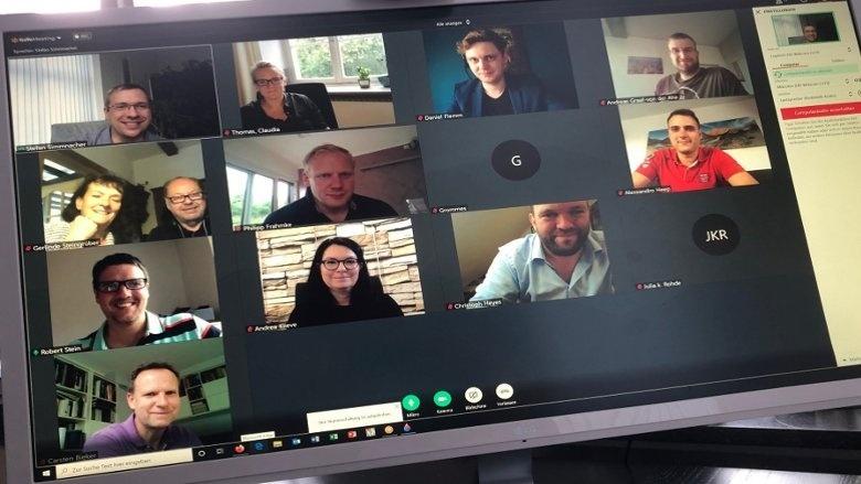 Videokonferenz der AG Digitale Wirtschaft