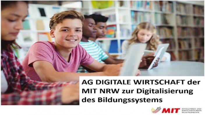 AG Digitale Wirtschaft zur Digitalisierung der Bildung